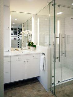 47 half wall showers ideas   half wall shower, bathrooms