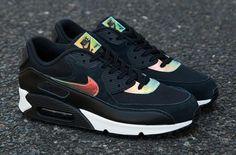 """Nike Air Max 90 Premium """"Iridescent/Black"""""""