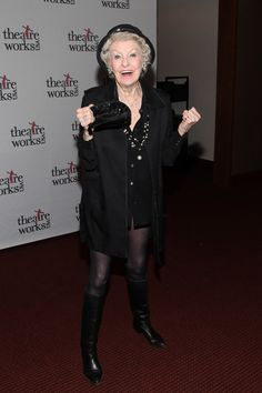 ... elaine stritch actress elaine stritch attends the theatreworks usa