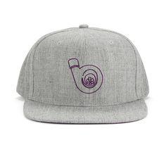TWEED TURBO HAT, PURPLE