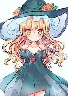 Anime Kawaii, Moe Anime, Kawaii Cute, Kawaii Girl, Anime Chibi, Manga Anime, Anime Art, Touhou Anime, Anime Witch