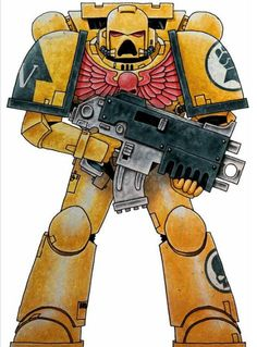 Battle-Brother Onor of the Imperial Fists 5th Company, 4th Tactical Squad.