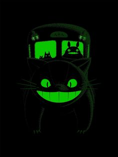 World Premier Exclusive First Look! Glow in the dark Nekobasu (Catbus)byBruce Yan