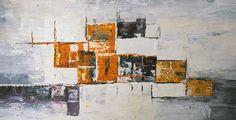 Abstrakt Handmålad Tavla - Antonia