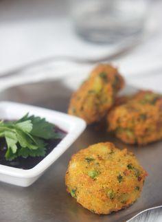 Aloo Tikki ~ Vegan & Gluten Free by Allyson Kramer, via Flickr