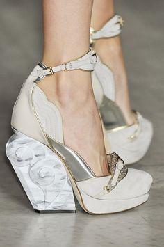 runway-shoes: Aquilano.Rimondi Milan Spring 2012