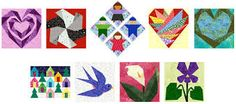 Image result for patterns for quilting blocks