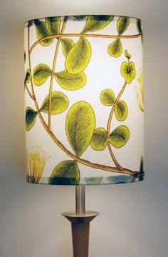 Custom made Marimekko Kuusama Lamp Shade 12 x 16 by FinnFabDesigns