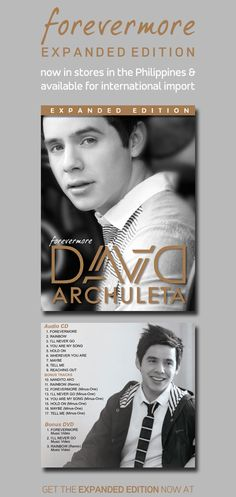 Forevermore Expanded Edition Out Now! Details on DavidArchuleta.com