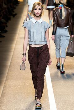 Fendi Spring 2015 Ready-to-Wear - Collection