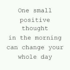 Be positive #motivation