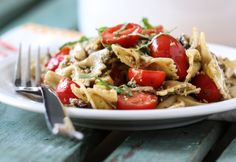 Roasted Vegetable Pasta Salad | Inspired by Charm