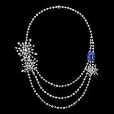 Piaget   Collier  Diamant  Sapphire