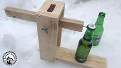 Fabrication d'une CATAPULTE pour ouvrir les bières en bois de palette