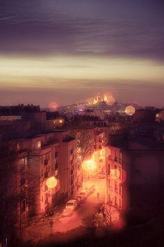 Sacré Coeur - Montmartre - Paris by hebiflux