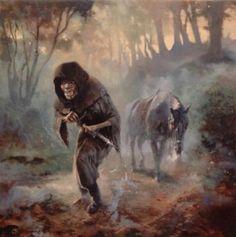 Ring Wraith by Paul Raymond Gregory