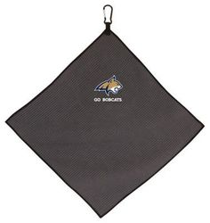 Team Effort NCAA Microfiber Golf Towel - Montana State University