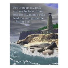 Psalm 31, Bible Psalms, Scripture Verses, Bible Scriptures, Lighthouse Quotes, Lighthouse Pictures, Healing Words, Spiritual Inspiration, Christian Quotes