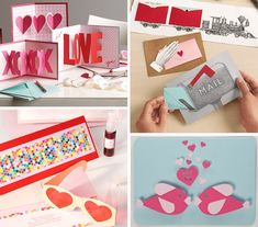 Cute DIY Valentine cards for your loved one.