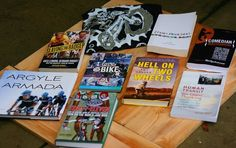 I will give away this collection of bike books after the New Year - it'll be first come first serve so watch for it!