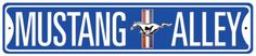 Mustang Alley Tin Sign at AllPosters.com