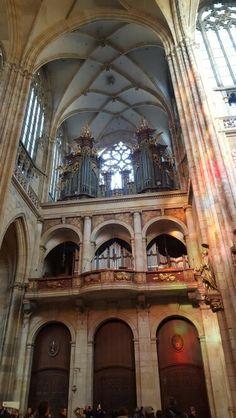 Organ. St Vitus Cathedral, Prague Castle