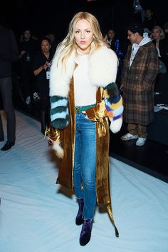 See the best celebrity moments from New York Fashion Week 2017, including where they were and who they were wearing.