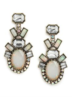Opal Galactic Drops Earring from BaubleBar {pretty}