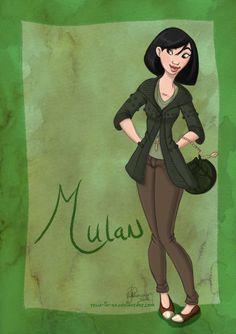 DisneyBound: Mulan by Tella-in-SA on DeviantArt Disney Nerd, Disney Fan Art, Disney Girls, Disney Style, Disney Love, Disney Magic, Disney Pixar, Walt Disney, Disney Artwork