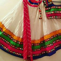 Do you want to buy Chaniya Choli online? At Fashion ka Fatka you will find the best and traditional chaniya choli and lehenga choli from huge collection. Our Lehenga Choli collection is latest and it is exactly what you are looking for wedding season. Chaniya Choli For Kids, Garba Chaniya Choli, Garba Dress, Navratri Dress, Lehenga Choli, Lehenga Blouse, Baby Frocks Designs, Kids Frocks Design, Stylish Dresses For Girls