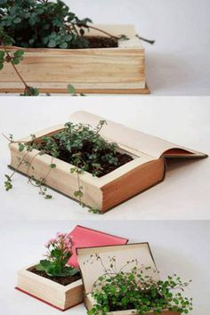 Cool way to recycle old book