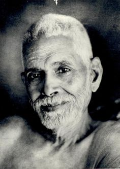 Ramana Maharshi / As a boy of sixteen in he challenged death by a penetrating enquiry into the source of his being. Later hailed as Bhagavan Sri Ramana Maharshi he revealed the direct path of Self-enquiry and awakened mankind to the immense spiritua