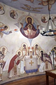An Interview with Iconographer Seraphim O'Keefe – Orthodox Arts Journal Byzantine Icons, Byzantine Art, Religious Images, Religious Art, Archangel Raphael, Raphael Angel, Orthodox Prayers, Orthodox Christianity, Holy Cross
