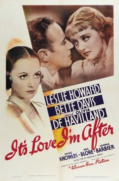 It\'s Love I\'m After movie poster