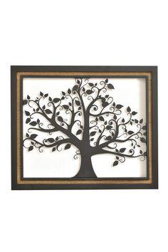 Framed Tree Wall Art.