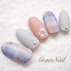 いつでも可愛い指先に♡女の子がだいすきな『ピンク色』を使った冬ネイル集 | GIRLY