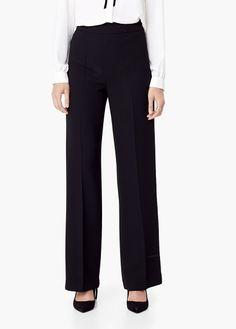 Pantalón cintura alta | MANGO