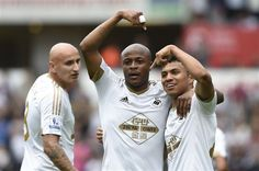 Andre Ayew is the 1st player to score in his 1st two #BPL matches since Diego Costa & Eric Dier last season #Swans