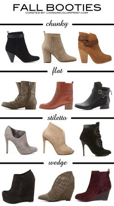 Ladies say bye bye to your old riding boots because this fall ankle high boots are in!