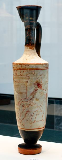 München: Junger Krieger http://upload.wikimedia.org/wikipedia/commons/4/40/Staatliche_Antikensammlung_White_ground_lekythos_430BC_young_warrior_and_father_1.jpg?uselang=de