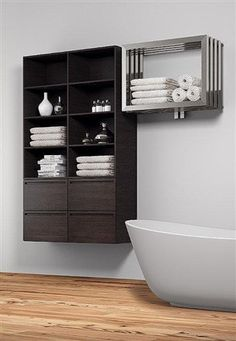The Reina Caldo Stainless Steel Heated Towel Rail Is Available In A Brushed Finish