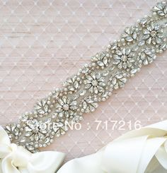 2013 OEM factory price hand made beaded crystal bridal belt luxury wedding dress sash $46.90