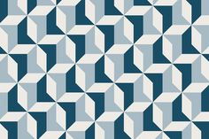 A soft yet striking design, this Abstract Blue Geometric mural is a fantastic way to liven up your decor