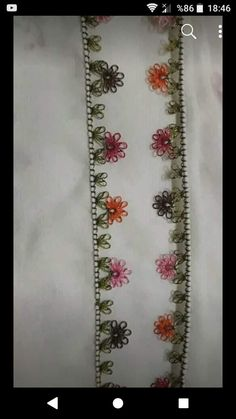 This post was discovered by HU Drawn Thread, Thread Work, Needle Lace, Bobbin Lace, Embroidery Saree, Brazilian Embroidery, Japanese Embroidery, Bargello, Floral Tie