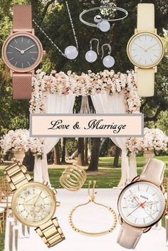 Get ready for the wedding party with Skagen, Fossil, Table Decorations, Party, Wedding, Home Decor, Valentines Day Weddings, Decoration Home, Room Decor