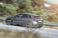 https://flic.kr/p/Pssys7 | Mercedes-Benz A180d | Uphill with the 2016 A-Class...
