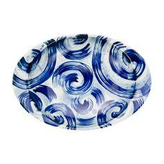 Japanese Online Shop - Superb Curry Plate, Tide (Large): JCRAFTS.com