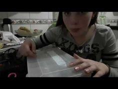 Como fazer pulseira com cola quente - YouTube