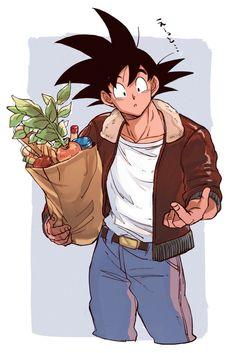 Dbz, Goku And Gohan, Son Goku, Dragon Ball Z, Neji E Tenten, Anime Films, Anime Characters, Naruto Images, Anime Shows