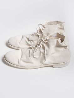 GUIDI Desert Boots (Men) Kangaroo Reversed Leather